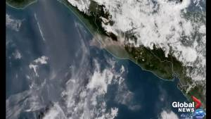 NOAA satellites capture Fuego Volcano eruption