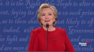 Presidential debate: Hillary Clinton calls out Trump's 'pigs, slobs, and dogs' comments regarding women