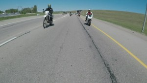 Edmonton motorcyclists gather to remember father killed in crash