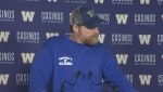 RAW: Blue Bombers Mike O'Shea Media Briefing – Nov. 14