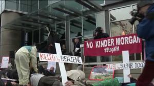 Anti Kinder Morgan Protest