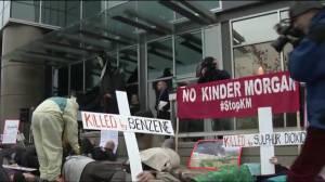 Anti Kinder Morgan Protest