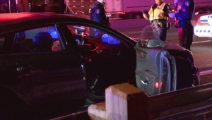 Driver facing charges after Toronto police cruiser rear-ended on Hwy. 401