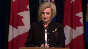 Notley talks about why B.C.'s position on bitumen is unacceptable