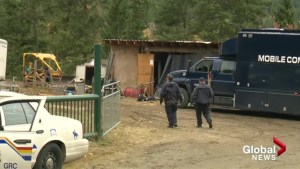 Salmon River Road investigation has neighbour concerned
