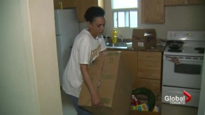 Former Goodwill employee says she can't afford to move