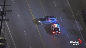 Alleged stolen car leads police on violent high-speed pursuit in Southern California