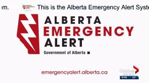 Alberta Emergency Alerts to all cellphones