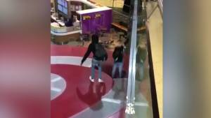 Video shows teen fall through store roof in failed West Edmonton Mall prank