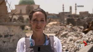 UNHCR Special Envoy Angelina Jolie visits Mosul