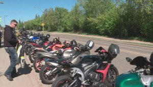 Motorcycle memorial ride remembers 40-year-old Edmonton man who died