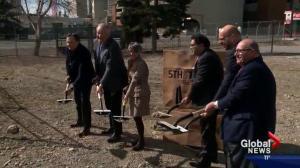 Calgary breaks ground on East Village project