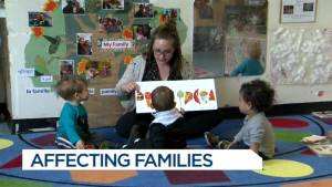 Ontario Child care centers to lose funding