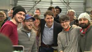 Justin Trudeau pays visit to Halifax (02:16)