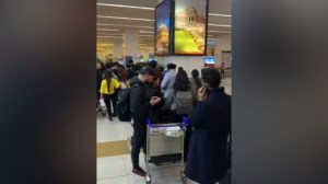 B.C. family records chaos at India airport after luggage goes missing