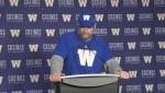 RAW: Blue Bombers Mike O'Shea Media Briefing – May 22
