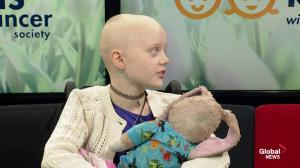 Kids with Cancer: Julianna, 10, fighting rhabdomyosarcoma