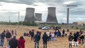 Cooling towers once voted England's 'ugliest' demolished