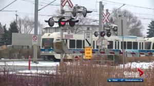 Edmonton's Metro LRT Line signalling system wasn't designed for at-grade use