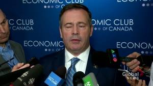 'We're very sorry to hear some homes were lost': Kenney on damage in Paddle Prairie