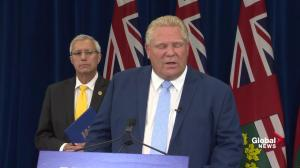 Ford says will consult with parents on sex-ed in 'rapid fashion'