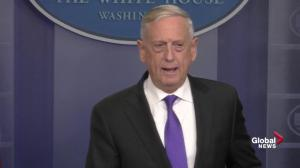 James Mattis discusses military spending reached in budget deal