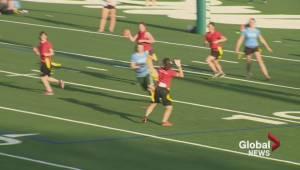Girls' flag football taking important steps in Saskatoon
