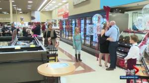 Red Deer couple ties the knot at grocery store