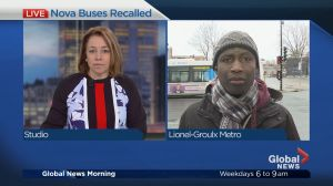 Nova buses recalled