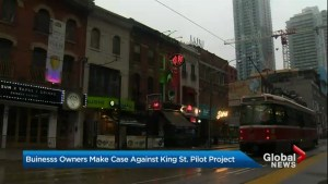 Business owners make case against King Street pilot project