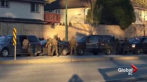 Heavy police presence in Coquitlam