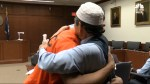 Father of slain son forgives man murderer; says he doesn't blame him