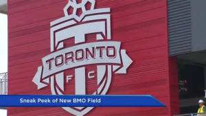 Tour of the newly renovated BMO Field (00:37)