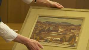 Forgotten Group of Seven painting found at Oxford
