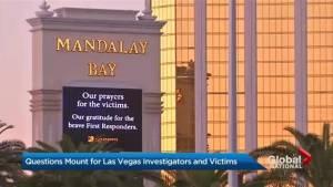 Questions mount for Las Vegas investigators, victims