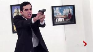 Russian ambassador to Turkey shot dead during speech