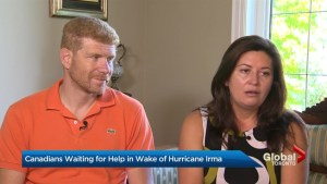 Families disappointed by government response to Canadians stranded by Hurricane Irma