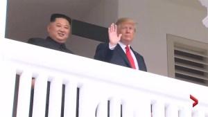 Trump leaves headline-generating week in Washington