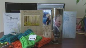 Knitting for a cause: Saint John area woman makes reflective armbands following family tragedy