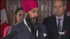Ottawa has a responsibility to mediate B.C, Alberta dispute: Singh