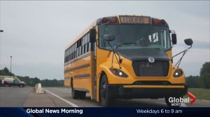 eLion electric school bus makes debut in Montreal