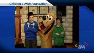 Children's Wish Foundation child goes to Disney World