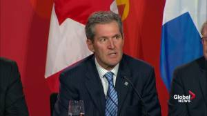 'We are clearly not yet': Manitoba Premier Brian Pallister explains why they're not part of climate deal