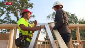 Habitat for Humanity: Day 7 of the Enfield Crescent build