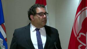 'This is the script': Nenshi on arena negotiations
