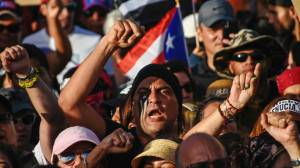 Puerto Rico protests continue causing tensions to rise