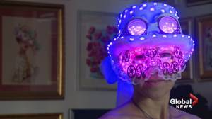Mask magic: A Calgary show features some fantastic faces