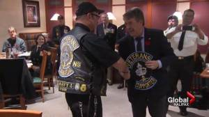 Nova Scotia man awarded Vimy medal for supporting veterans (01:29)