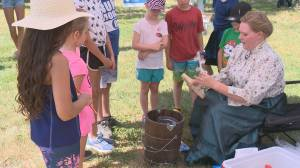 Visitors travel back in time at Nicolle Homestead