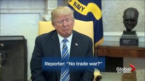 Trump using new tariffs as bargaining chip on NAFTA